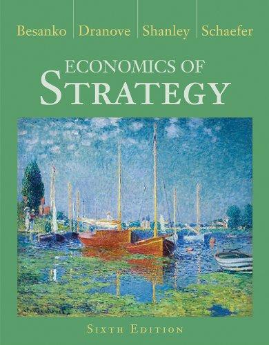 Economics of Strategy 6th Edition: David Besanko