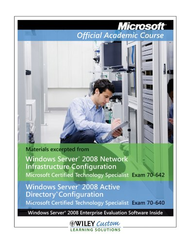 Itt Nt1330 MOAC 70-642-640 Txt Custom: Wiley Custom Learning
