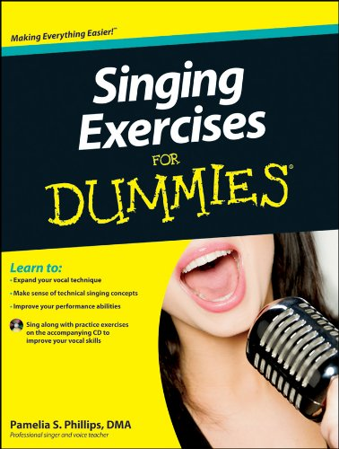 9781118281086: Singing Exercises For Dummies: with CD