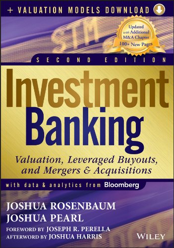 9781118281253: Investment Banking: Valuation, Leveraged Buyouts, and Mergers and Acquisitions (Wiley Finance)