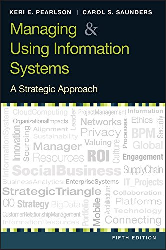 9781118281734: Managing and Using Information System