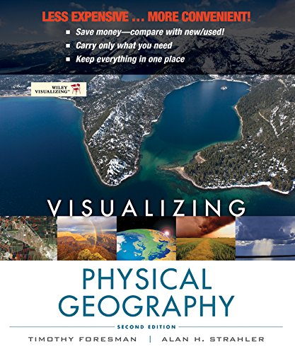 9781118285350: Visualizing Physical Geography 2e Binder Ready Version + WileyPLUS Registration Card