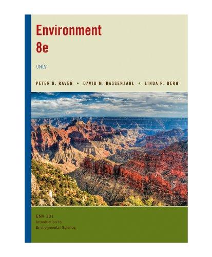9781118288467: Environment for Univ. Nevada Las Vegas 8e UNLV