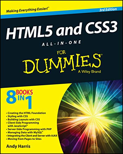 9781118289389: HTML5 and CSS3 All-in-One For Dummies