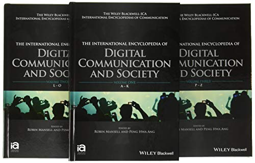 9781118290743: International Encyclopedia of Digital Communication and Society