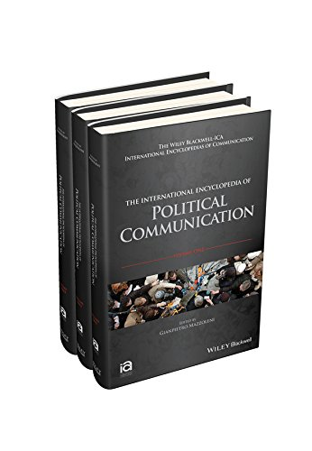 9781118290750: The International Encyclopedia of Political Communication, 3 Volume Set (ICAZ - Wiley Blackwell-ICA International Encyclopedias of Communication)