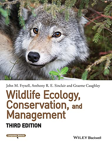 9781118291061: Wildlife Ecology, Conservation, and Management (Wiley Desktop Editions)