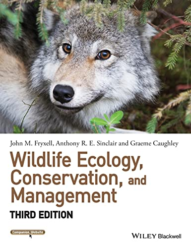 9781118291078: Wildlife Ecology, Conservation, and Management