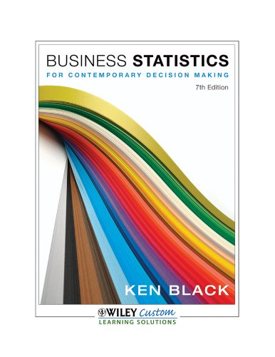 9781118291436: Business Statistics for Contemporary Decision Making
