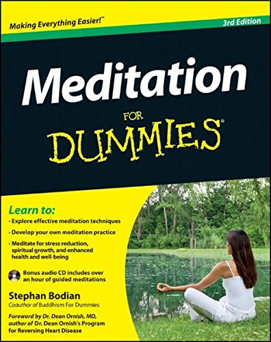 9781118291443: Meditation For Dummies, with Audio CD