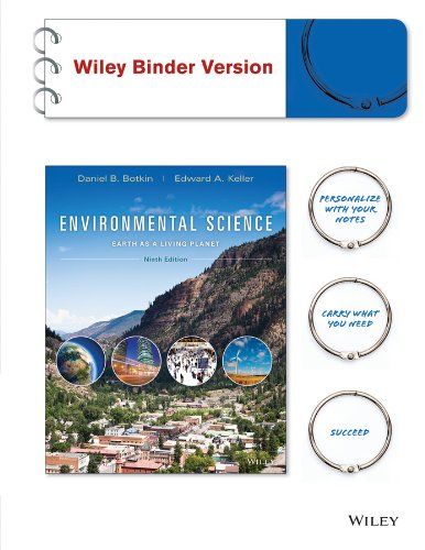 Environmental Science: Earth as a Living Planet: Botkin, Daniel B.