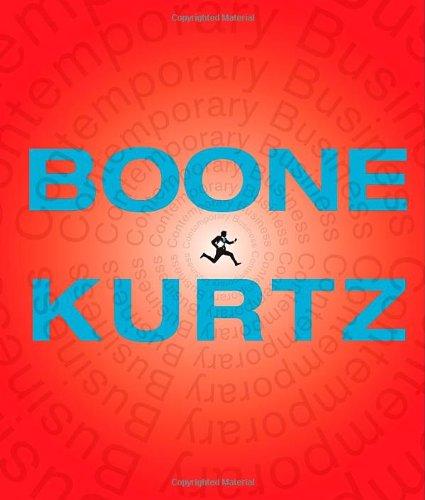 Contemporary Business, 15th Edition: Boone, Louis E.;