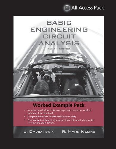 9781118294420: Basic Engineering Circuit Analysis, 10th Edition, Wileyplus Companion
