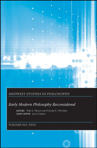 Early Modern Philosophy Reconsidered: Essays in Honor of Paul Hoffman.; (Midwest Studies in ...