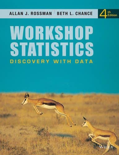 9781118298787: Workshop Statistics: Discovery with Data 4e + WileyPLUS Registration Card