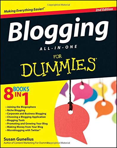 9781118299449: Blogging All-in-One For Dummies