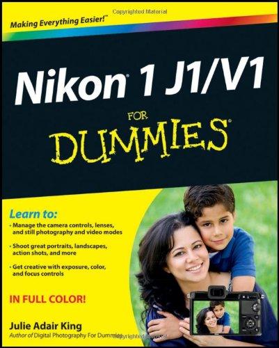 9781118299470: Nikon 1 J1/V1 For Dummies