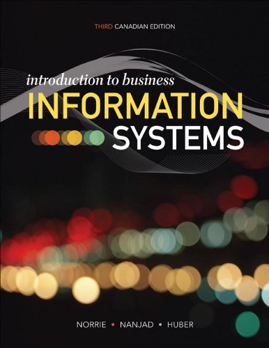 Introduction to Business Information Systems: Norrie, James