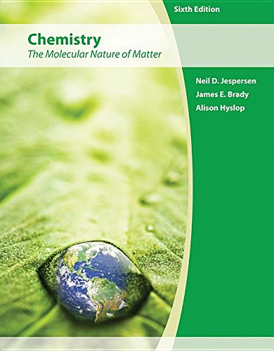9781118299852: Chemistry the Modecular Nature of Matter 6th Edition