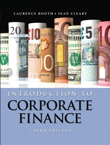 Introduction to Corporate Finance: NA