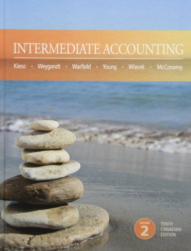 Intermediate Accounting 10th Canadian Edition Volume 2: Kieso, Weygandt, Jerry