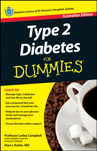 Type 2 Diabetes For Dummies (Paperback): Lesley Campbell