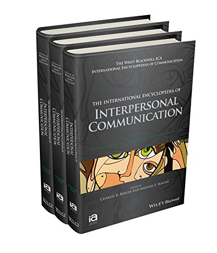 International Encyclopedia of Interpersonal Communication (Hardcover): Michael E. Roloff
