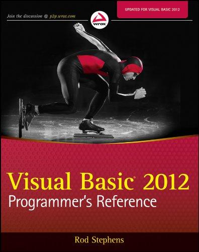 9781118314074: Visual Basic 2012 Programmer's Reference