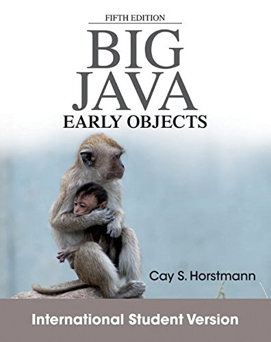9781118318775: Big Java: Early Objects