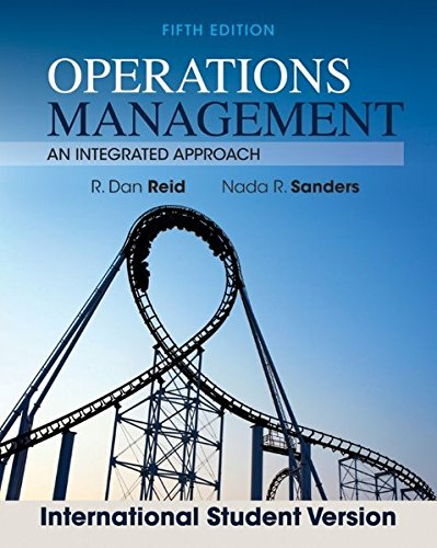 9781118323632: Operations Management: An Integrated Approach (Revised)