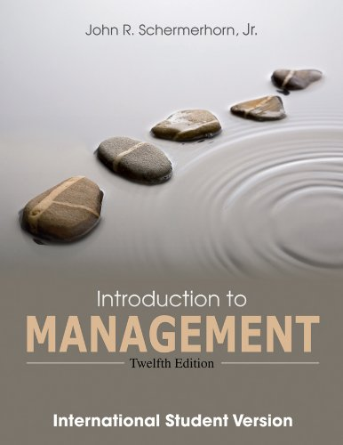9781118324028: Introduction to Management