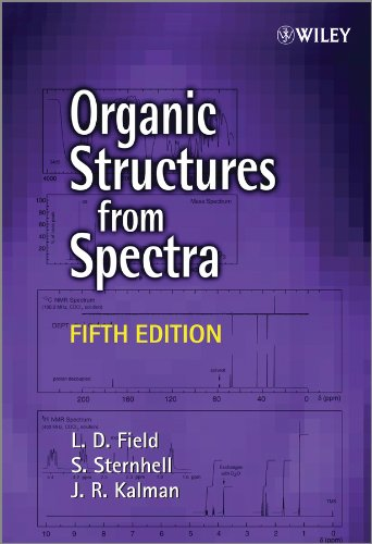 Organic Structures From Spectra 5E (Paperback): L. D. Field,