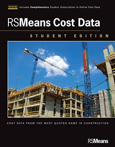 RSMeans Cost Data, + Website: RSMeans