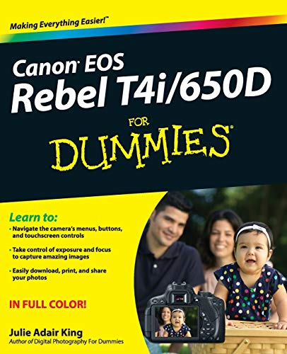 9781118335970: Canon EOS Rebel T4i/650D For Dummies