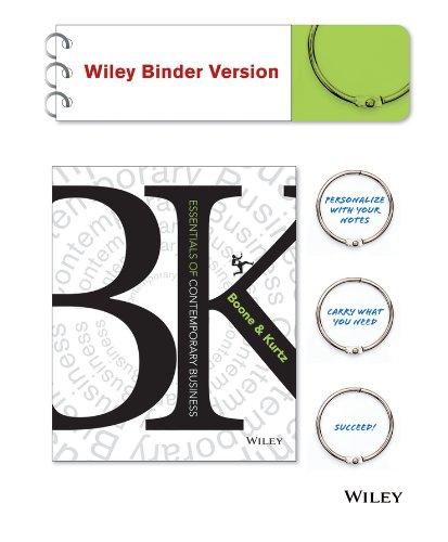 Contemporary Business Essentials: Louis E. Boone