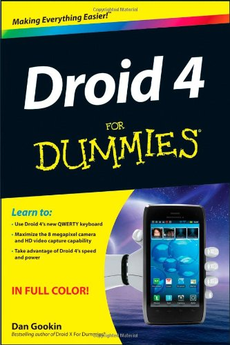 9781118336748: Droid 4 For Dummies