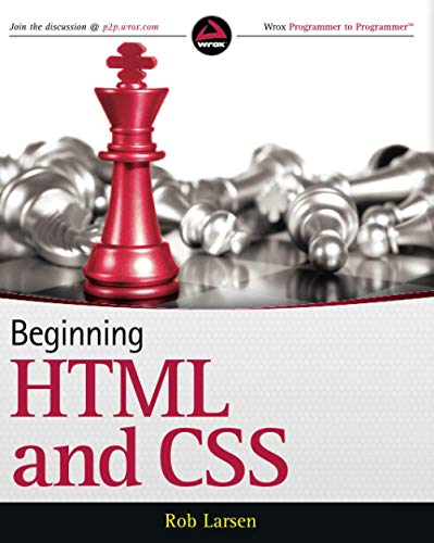 Beginning Html5 and Css3: Duckett, Jon