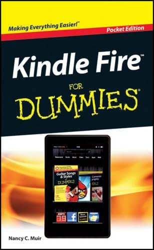 9781118343616: Kindle Fire For Dummies Pocket Edition