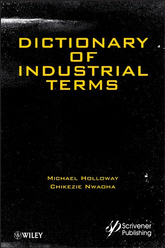 9781118344576: Dictionary of Industrial Terms