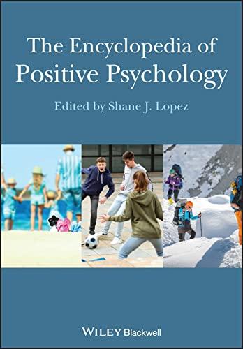 9781118344675: The Encyclopedia of Positive Psychology
