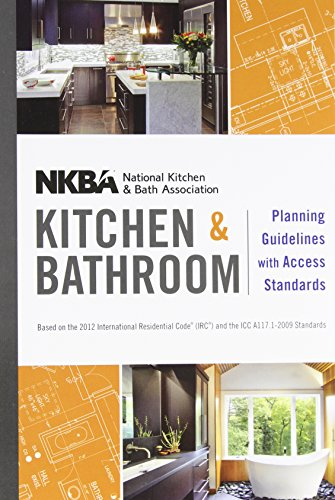 9781118347485: NKBA Kitchen and Bathroom Planning Guidelines ...