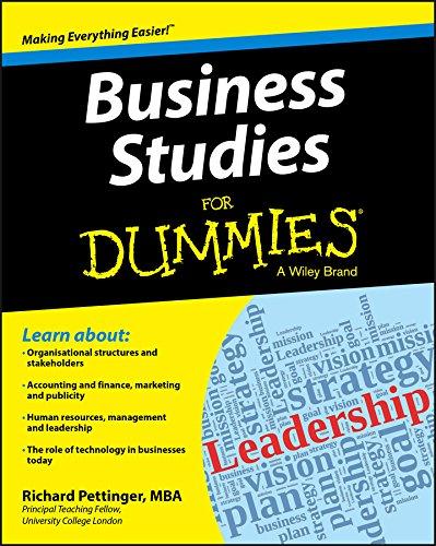 9781118348116: Business Studies For Dummies