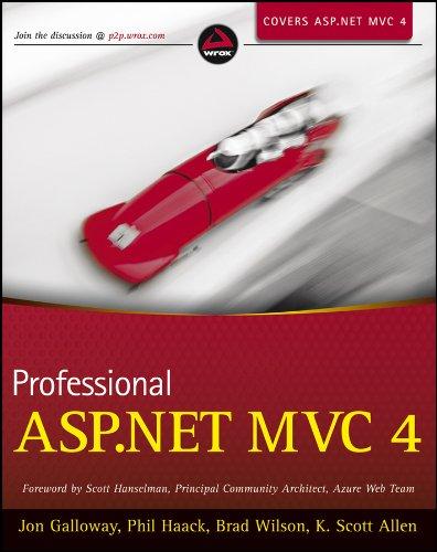 9781118348468: Professional ASP.NET MVC 4