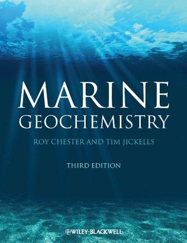 9781118349076: Marine Geochemistry
