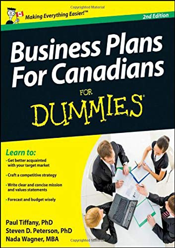 9781118349120: Business Plans For Canadians for Dummies