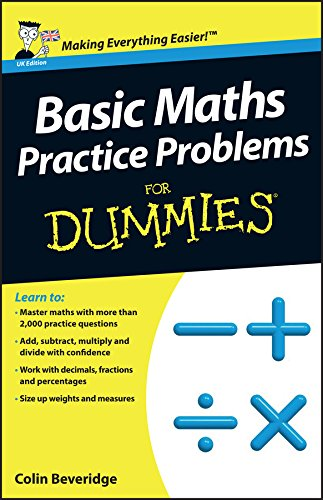 9781118351628: Basic Maths Practice Problems For Dummies