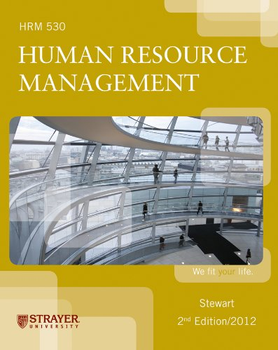 Human Resource Management (Human Resource Management): Greg L. Stweart