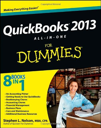 9781118356395: QuickBooks 2013 All-in-One For Dummies