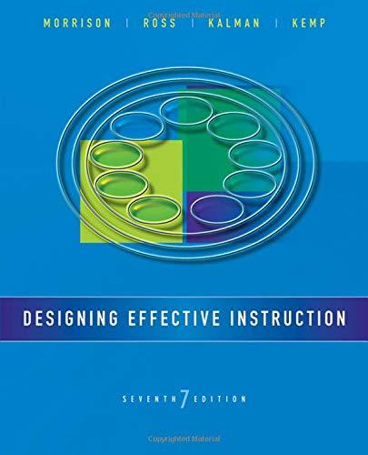 9781118359990: Designing Effective Instruction