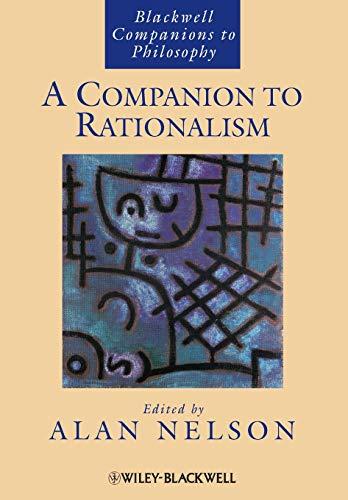 9781118360620: A Companion to Rationalism